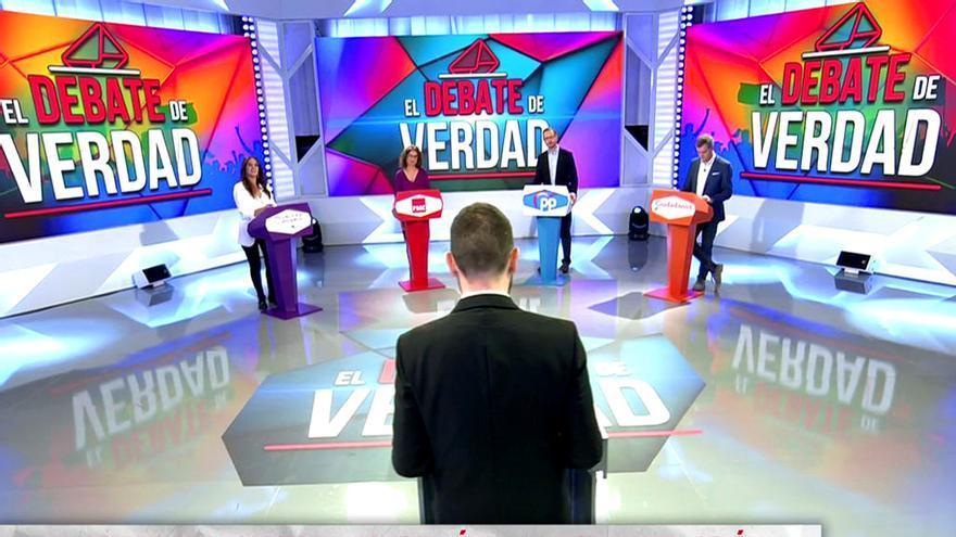 Audiencias miércoles 10 abril: 'Todo es mentira' bate..