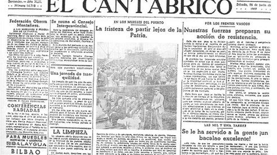 El Cantábrico fue el periódico de referencia en Cantabria desde su fundación hasta su desaparición en 1937. Sus instalaciones fueron incautadas por el ejército franquista para publicar el diario Alerta.