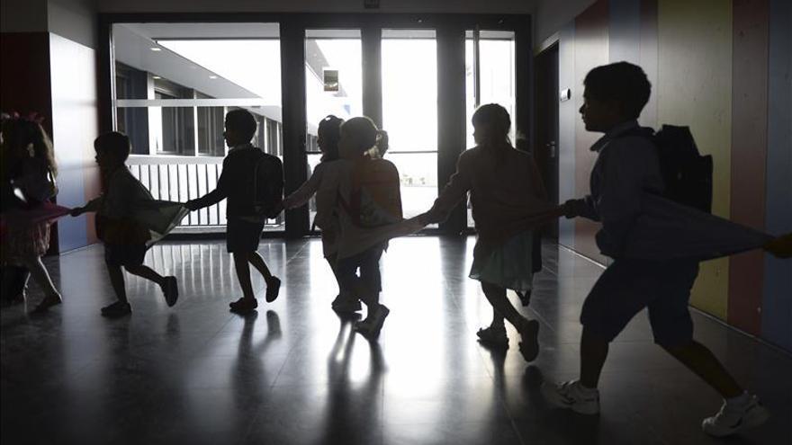 Aula de un colegio / Día de la Mujer