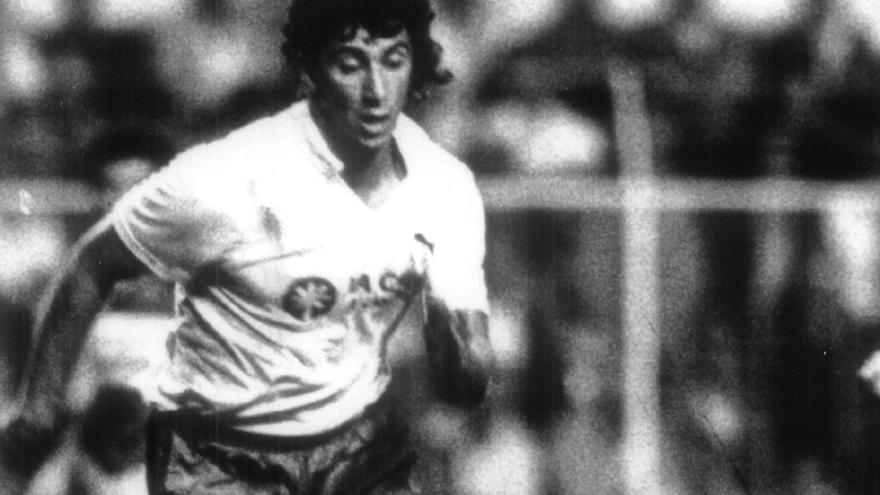"""Óliver Chinea, el """"otro"""" tinerfeño vistiendo la camiseta de la UD Las Palmas."""