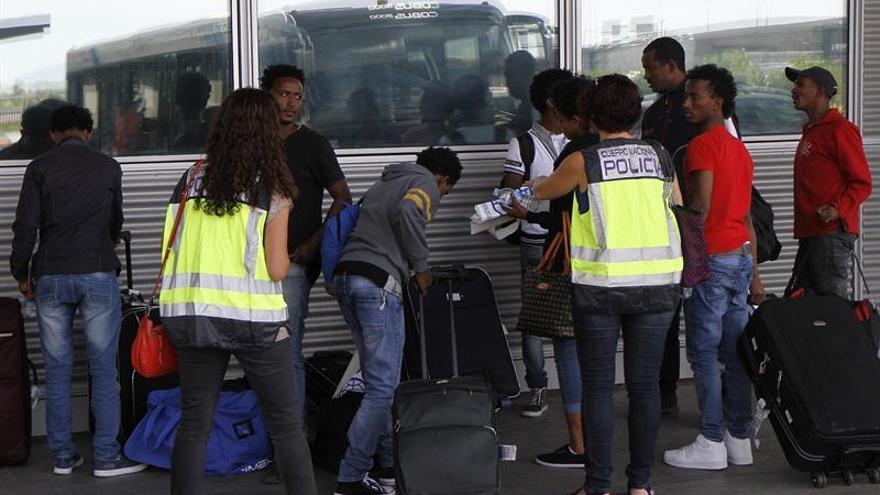Llegan a España diez nuevas personas refugiadas para un total de 315