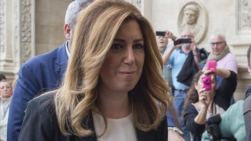 Susana Díaz dice que frente a la lacra de la violencia machista no caben los recortes