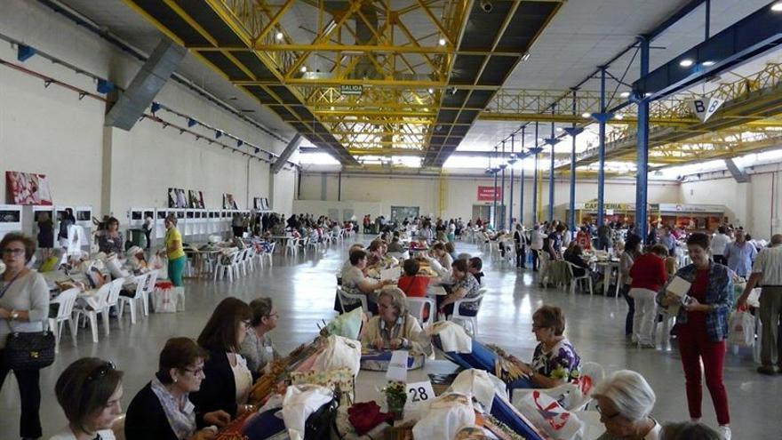I Muestra de Encaje 'Ciudad de Albacete'. / FOTO: EUROPA PRESS