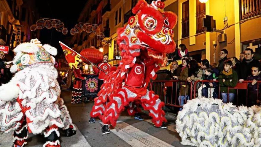 La celebración del Año Nuevo Chino en Valencia