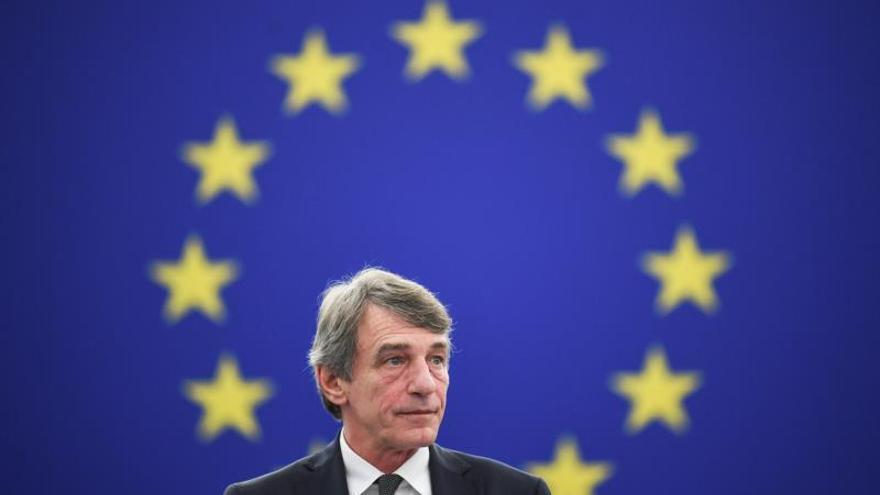 El presidente de la Eurocámara insta al Supremo a cumplir la sentencia de Junqueras