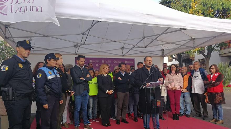Acto oficial de presentación de la actividad, este jueves en La Concepción, La Laguna