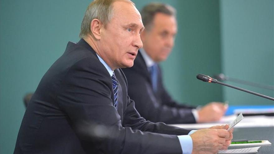 Putin participará en la cumbre del gas en Teherán el 23 de noviembre