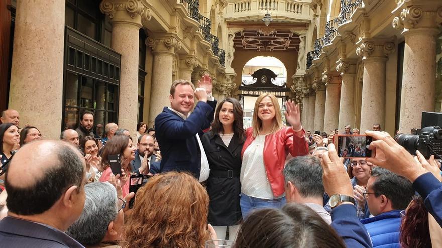 Inés Arrimadas en Albacete