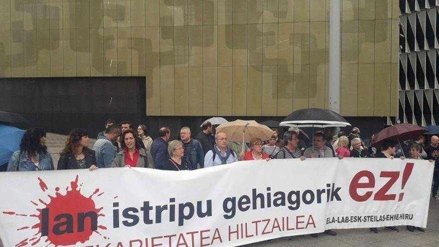 Crecen un 8% los accidentes laborales mortales en Euskadi, con 27 fallecidos hasta septiembre