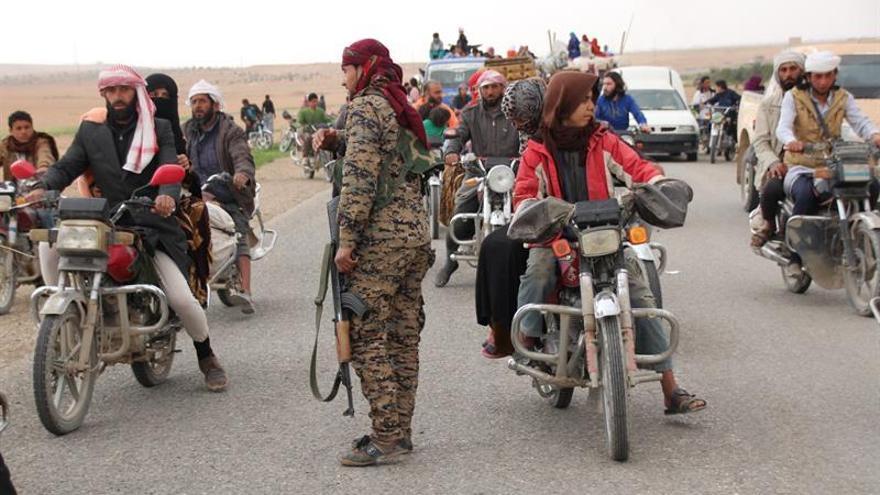 Las FSD controlan más del 70 % del casco antiguo de Al Raqa, según activistas
