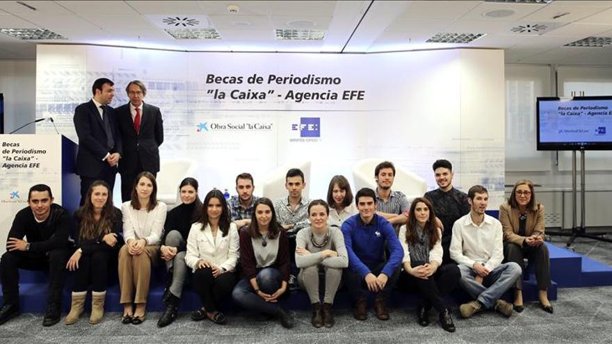 """El programa de Becas de Periodismo """"la Caixa""""-Agencia EFE cumple diez años"""