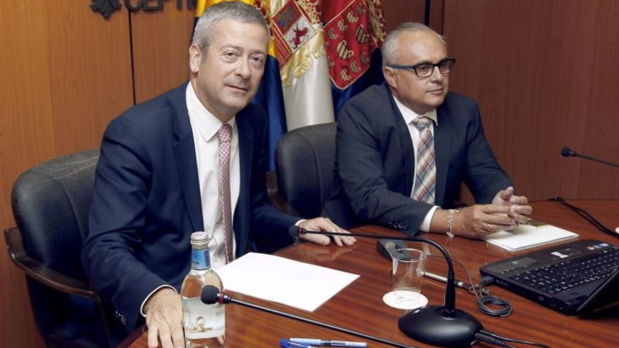 Agustín Manrique de Lara y José Cristóbal García
