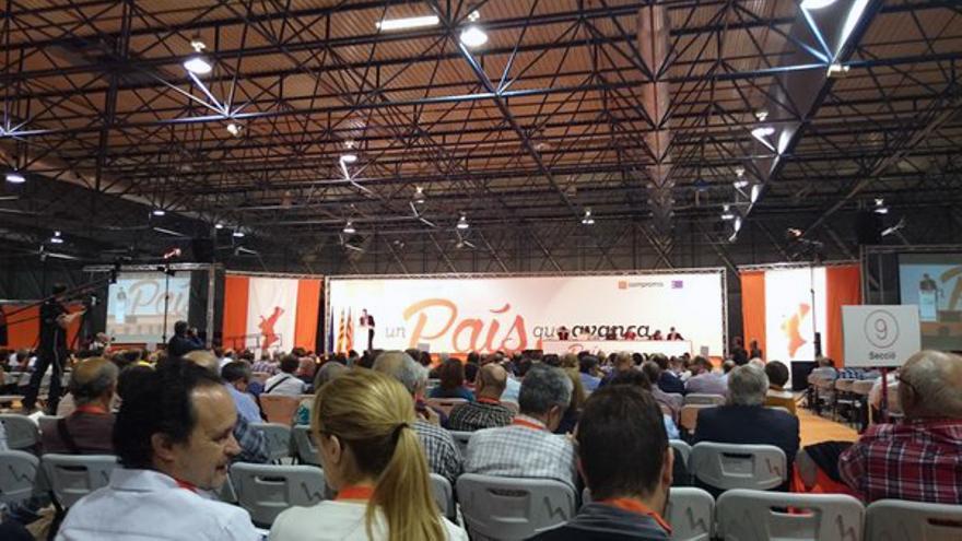 Enric Morera presenta su informe de gestión en el VII Congreso Nacional del Bloc
