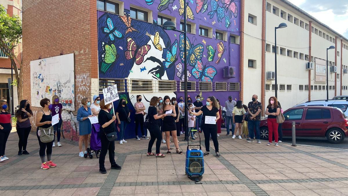 Concentración contra violencia machista en Miguelturra