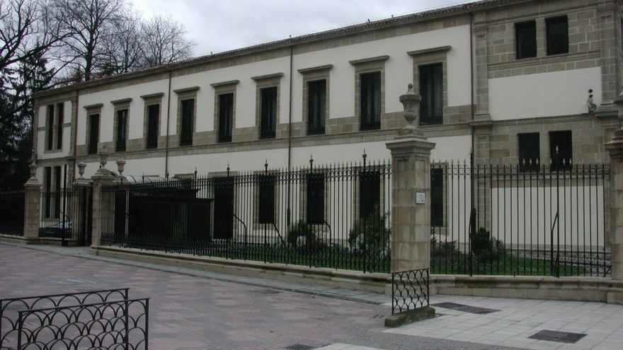 Exterior del Parlamento Vasco