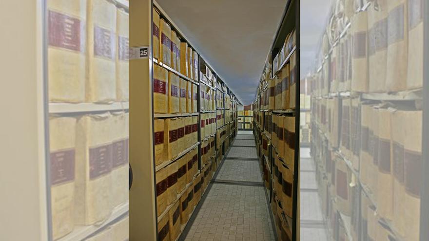Archivo Histórico de Protocolos del Colegio Notarial de Galicia, en A Coruña