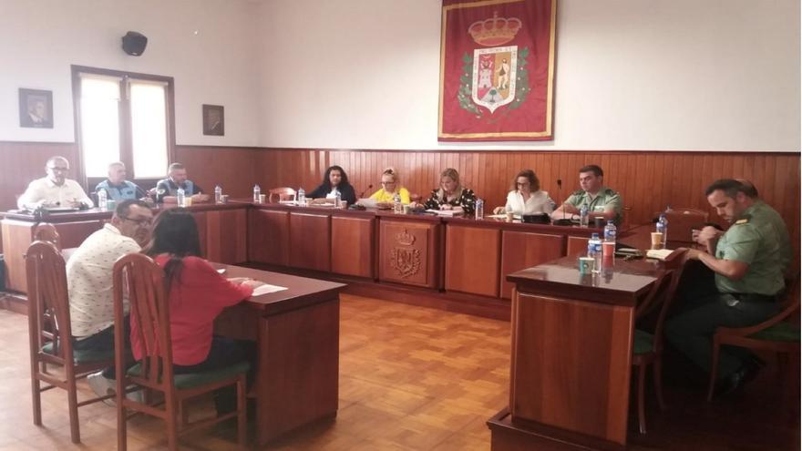 Junta Local de Seguridad  de  la Villa y Puerto de Tazacorte.