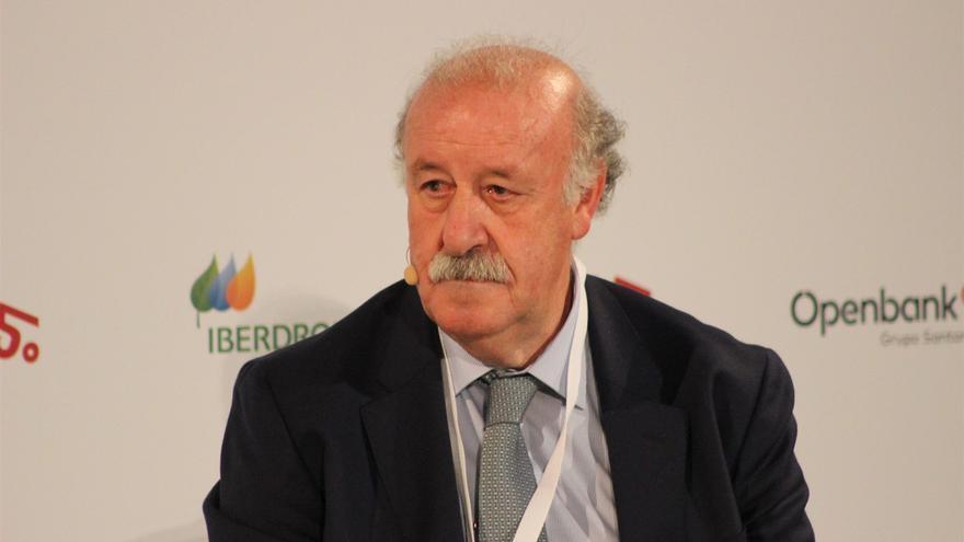 Vicente del Bosque, exseleccionador de España en fútbol