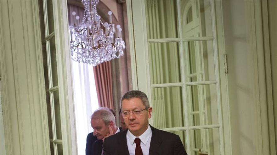 Gallardón se va sin lograr sus grandes reformas judiciales