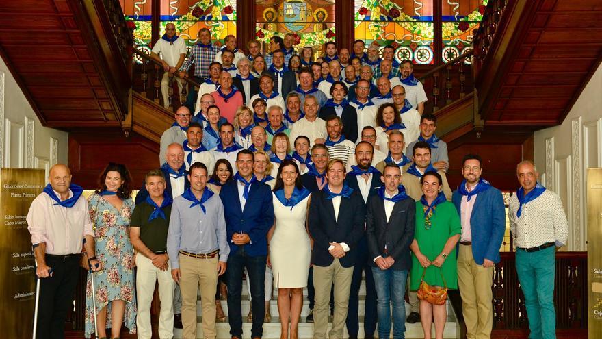 Comida de alcaldes organizada por Santander con motivo de la festividad de Santiago. | AYUNTAMIENTO DE SANTANDER