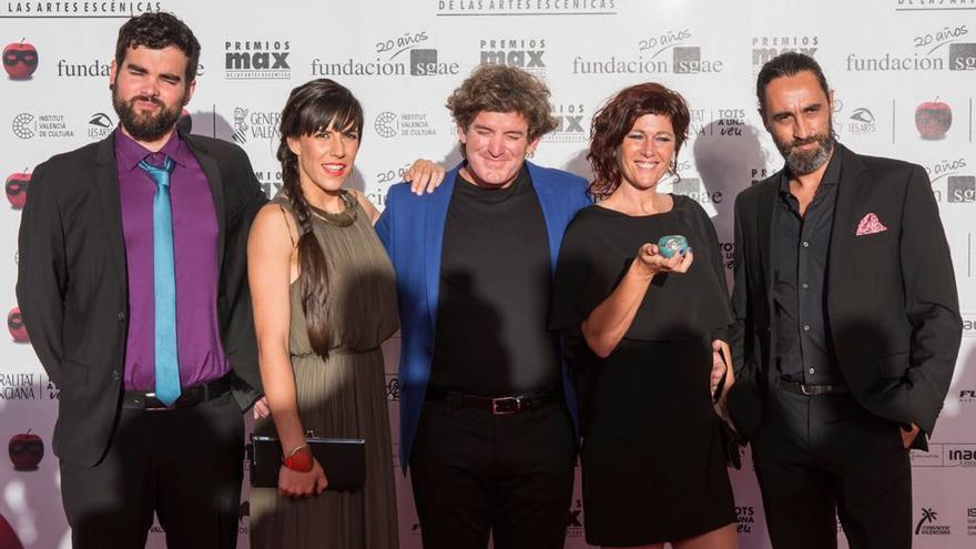 Grupo Puja! en la XX edición de los Premios Max