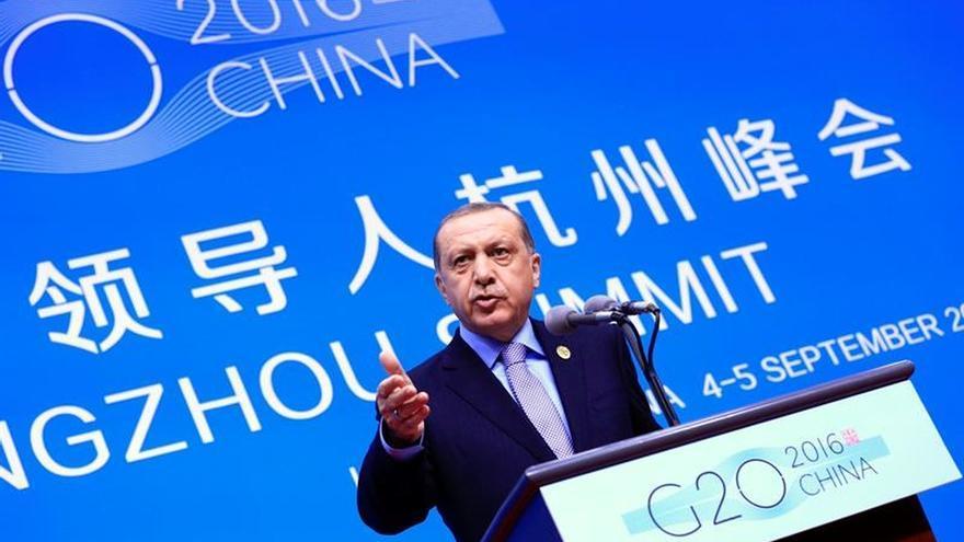 Erdogan propone a Obama y Putin una zona de exclusión aérea sobre Siria