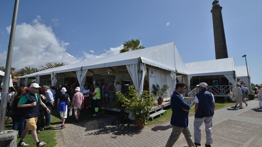 Feria de artesanos en Maspalomas