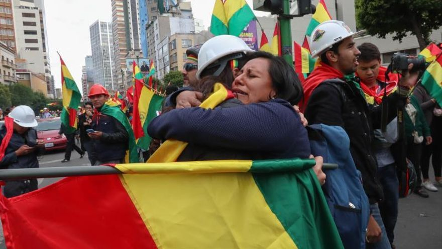 Evo Morales cierra a la fuerza una etapa histórica en Bolivia