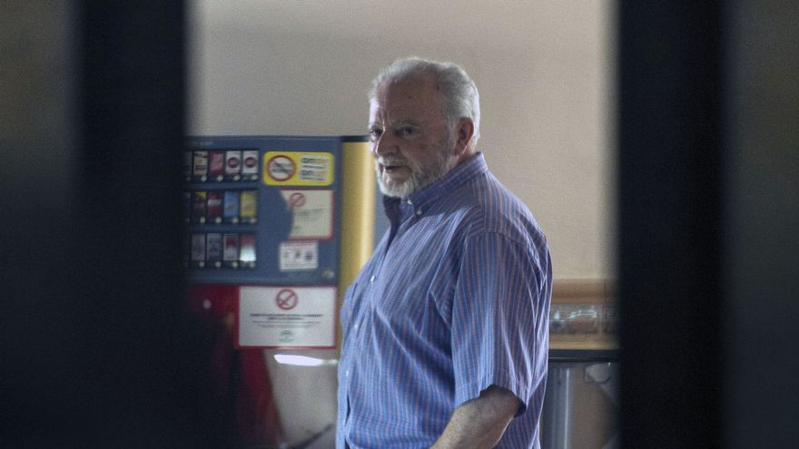 El excoordinador federal de IU Julio Anguita, en mayo de 2016 en Córdoba.