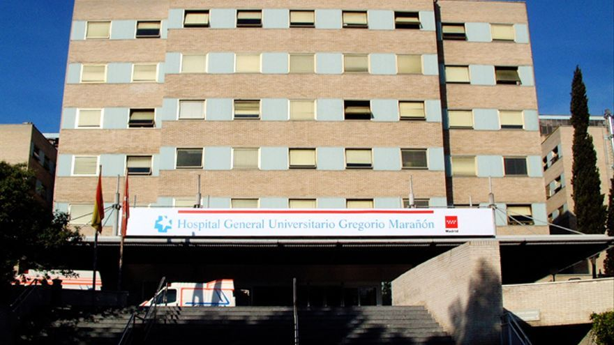 Fachada principal del hospital Gregorio Marañón.