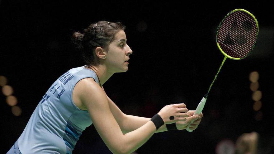 La campeona mundial y olímpica Carolina Marín