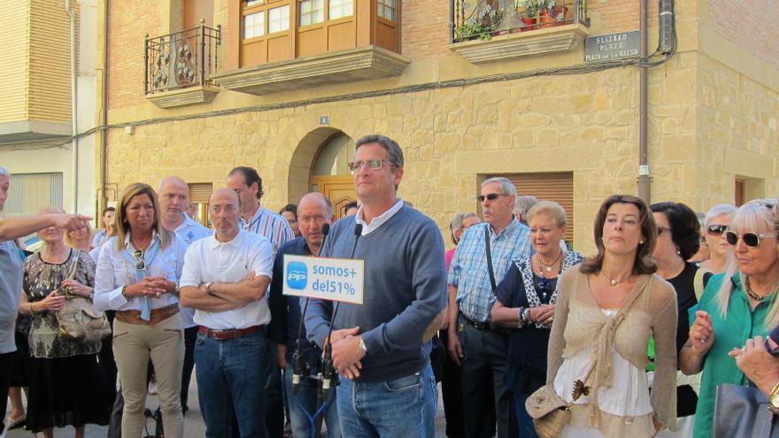 """Basagoiti advierte que """"la independencia es una lastre, una prima de riesgo"""" para la economía española"""