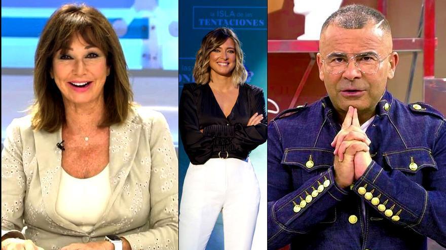 Ana Rosa, Sandra Barneda y Jorge Javier