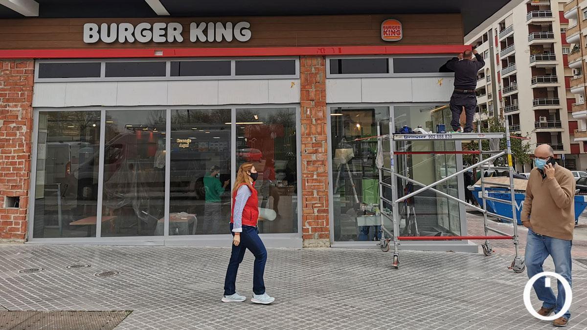 Nuevo local de Burger King