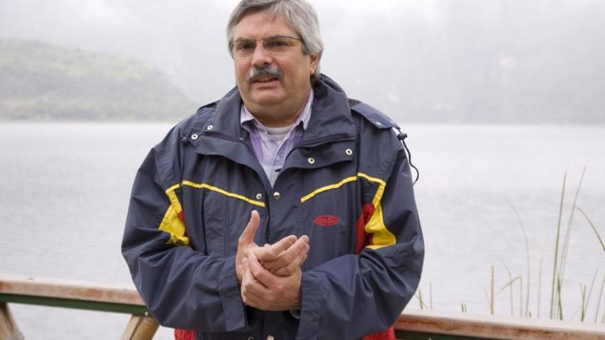 El subdirector de Áreas Protegidas de la IUCN, Pedro Rosabal.