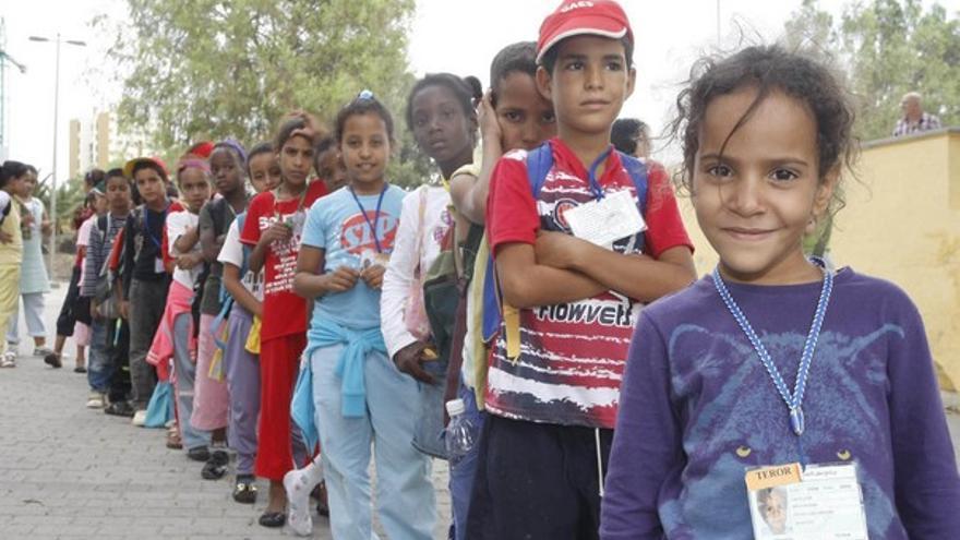 De la llegada de niños saharauis #8