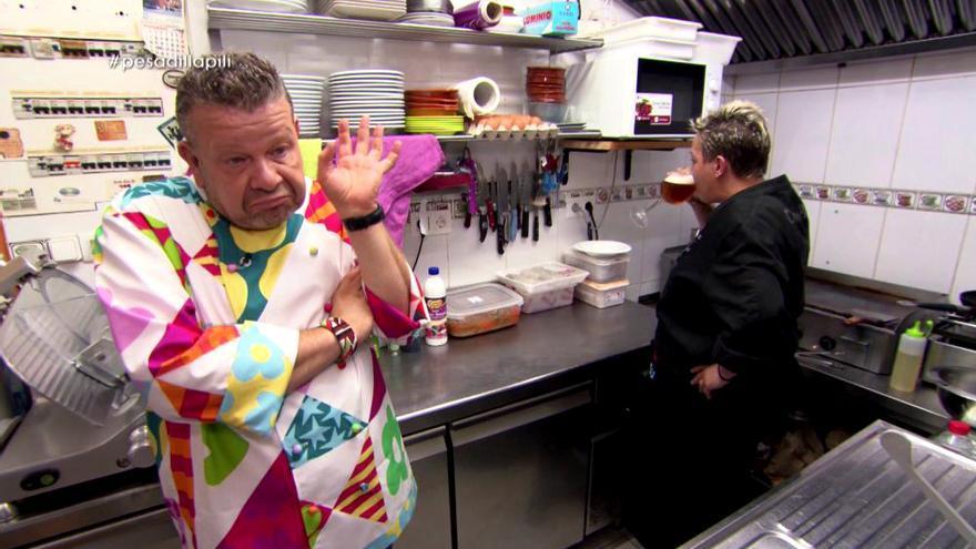 Alberto Chicote en Pesadilla en la cocina de laSexta
