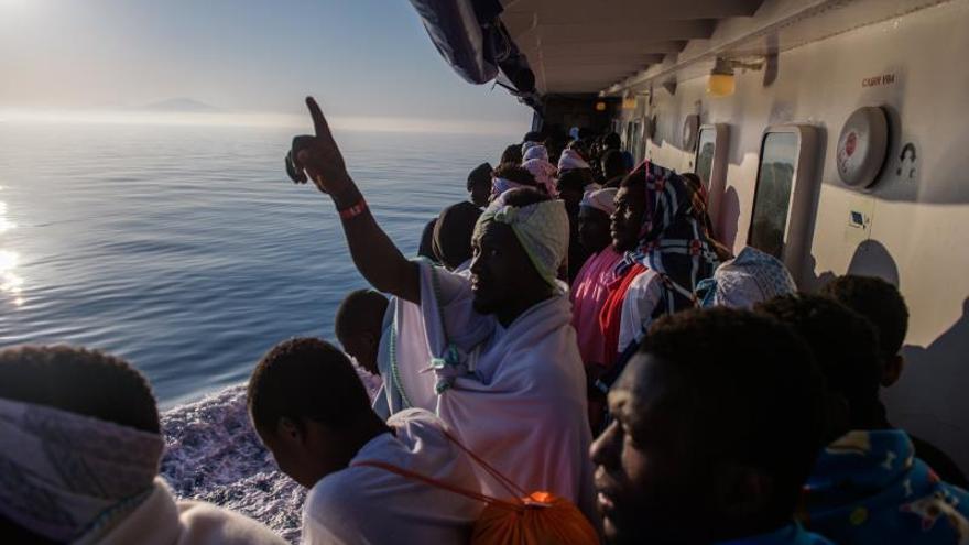 """El buque Aquarius obtiene una matrícula """"provisional"""" de Liberia"""