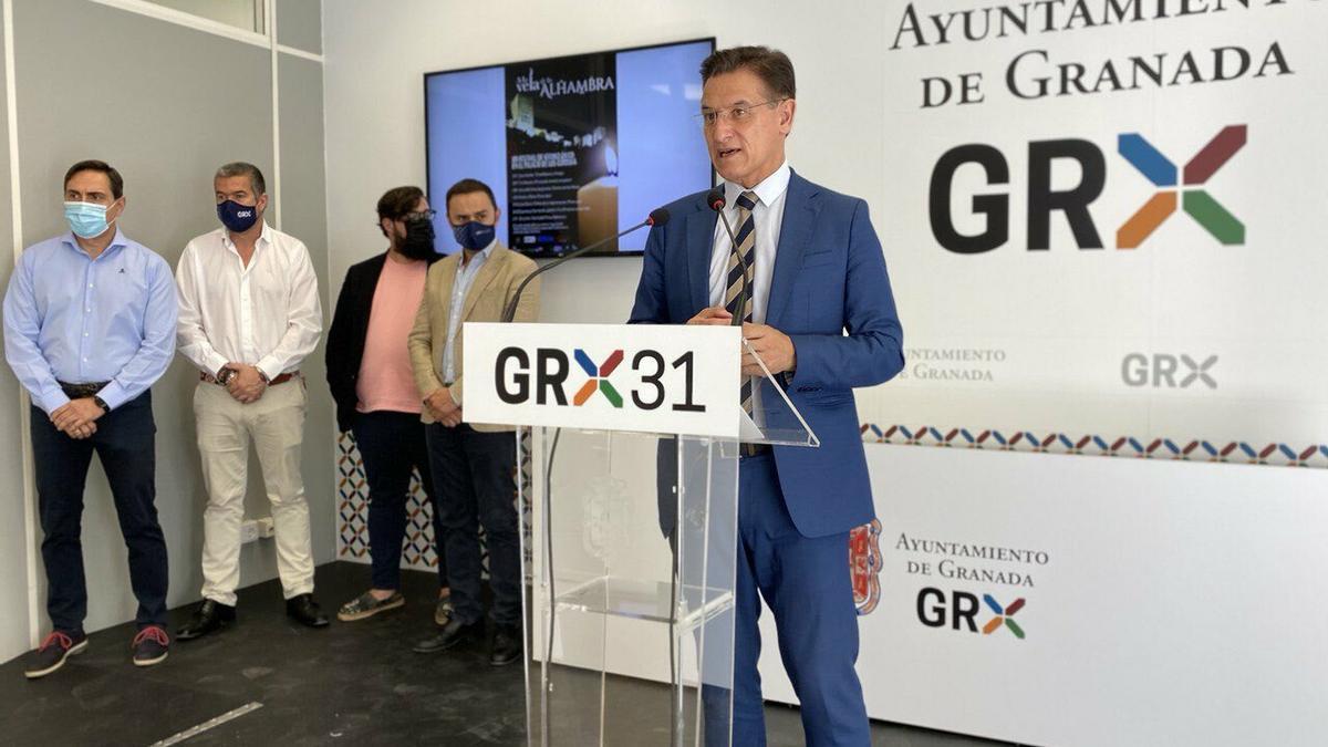 Luis Salvador (Ciudadanos) ha dejado su cargo para desbloquear la crisis del Ayuntamiento de Granada