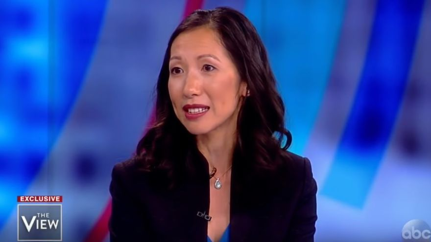 La doctora Wen, durante una entrevista en The View