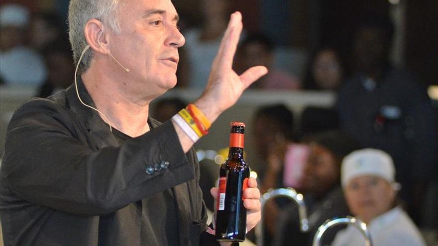 """El chef Ferran Adrià defiende la fusión de gastronomías y vanguardia """"con límites"""""""