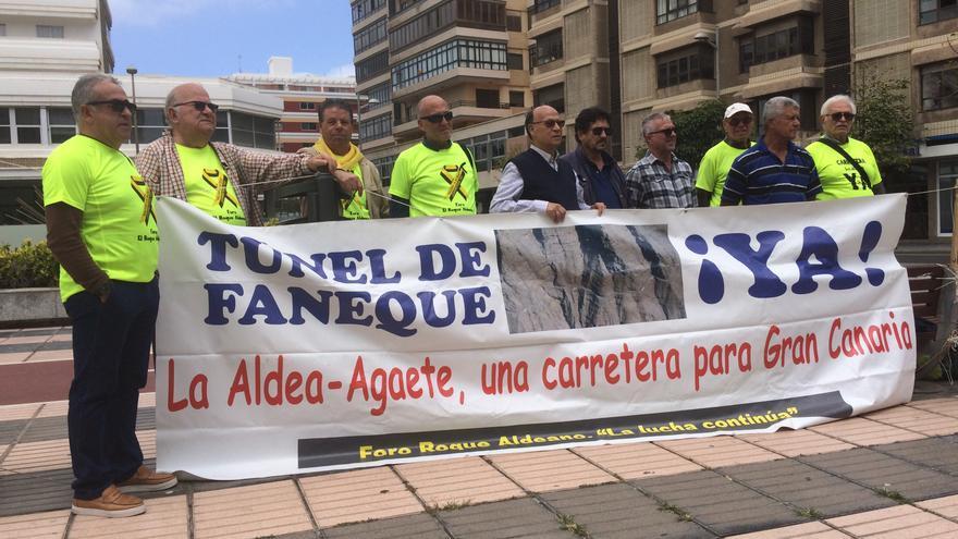Manifestación del Foro Roque Aldeano