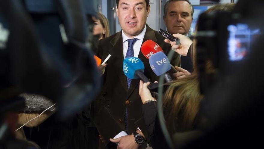 """Moreno cree """"muy decepcionante"""" que el tiempo de Díaz no se dedique a Andalucía"""