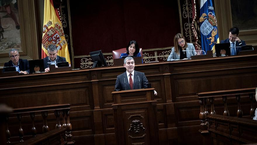 Fernando Clavijo en el Debate del Estado de la Nacionalidad Canaria 2018