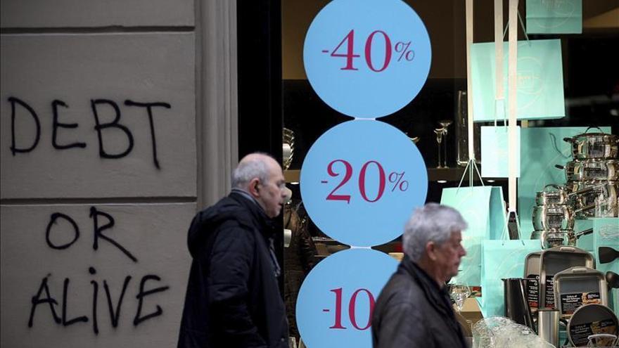 Grecia coloca 812,5 millones en letras a seis meses a un interés del 2,02 por ciento