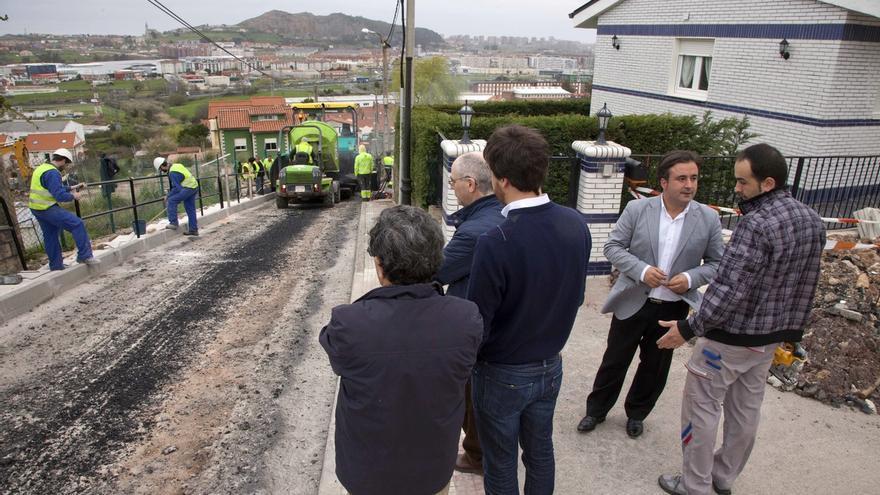 Finalizan las obras en Cacicedo y Camargo pueblo