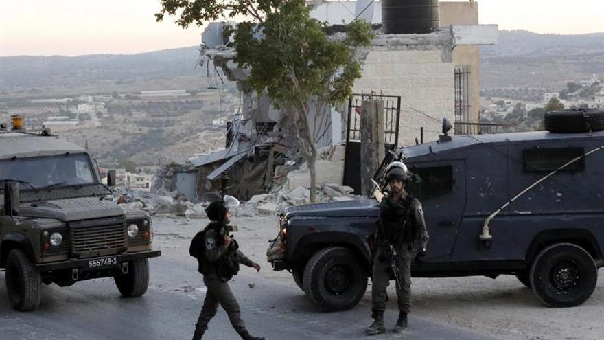 Un palestino herido tras intentar agredir a un soldado israelí en Cisjordania
