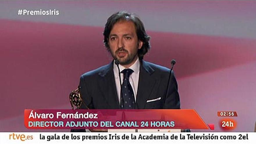 Álvaro Fernandez, excoordinador del 24 horas y ahora editor del Telediario 1