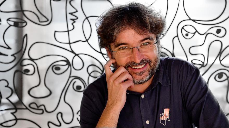 Jordi Évole, fotografiado en la sede de Producciones del Barrio.