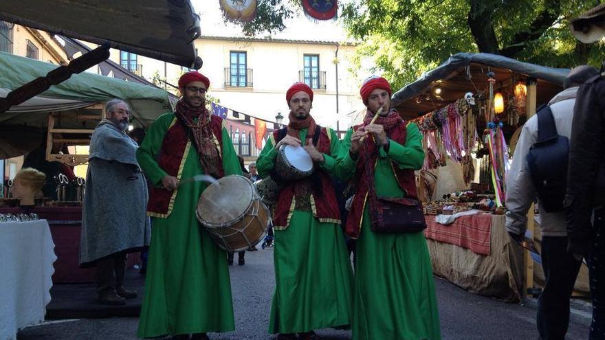 Instantánea de la última edición del Mercado Medieval Tres Culturas.